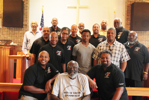Group picture of the Men's Ministry