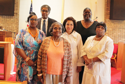 Group picture of the Caring and Sharing Ministry