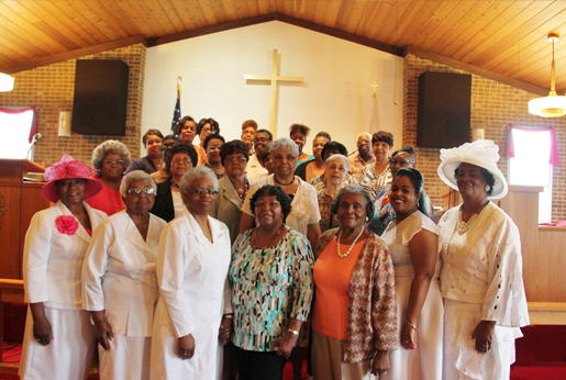 Group picture of the Women's Ministry